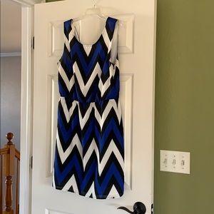 41Hawthorn Chevron Dress, Size M, Stitch Fix